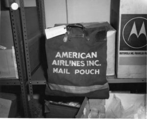 American Airlines Mail Pouch